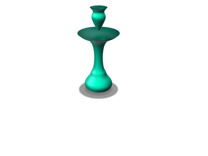 Floating Crystal Vase - 3D design by 3018722 Jan 11, 2018