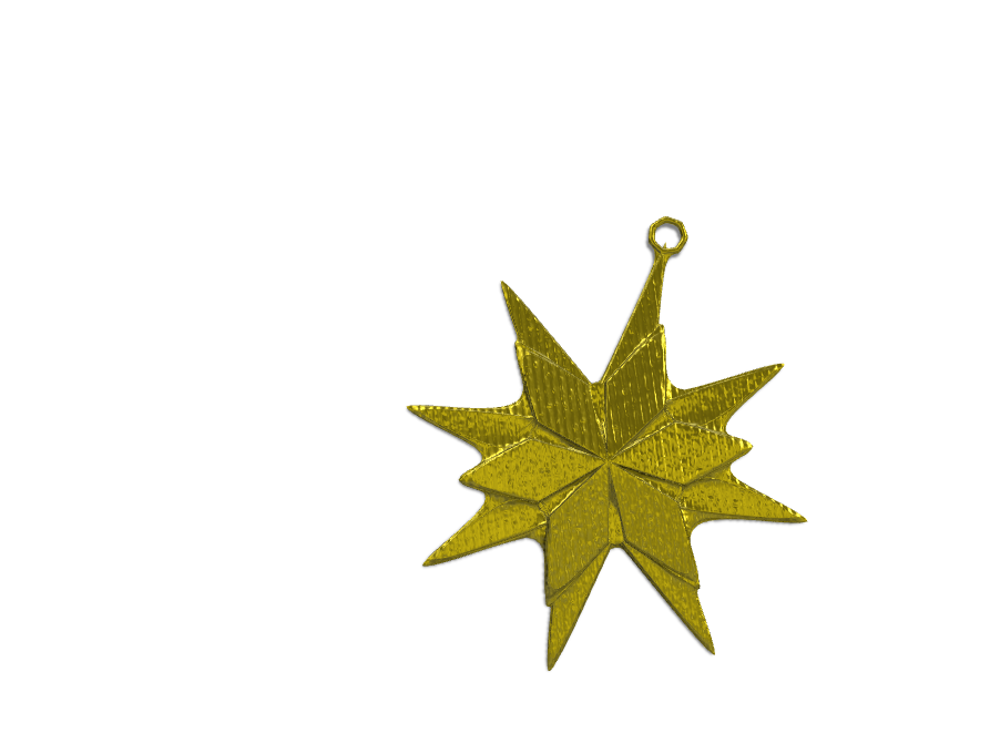 STAR_bauble Christmas - 3D design by shianneedgell Dec 13, 2017