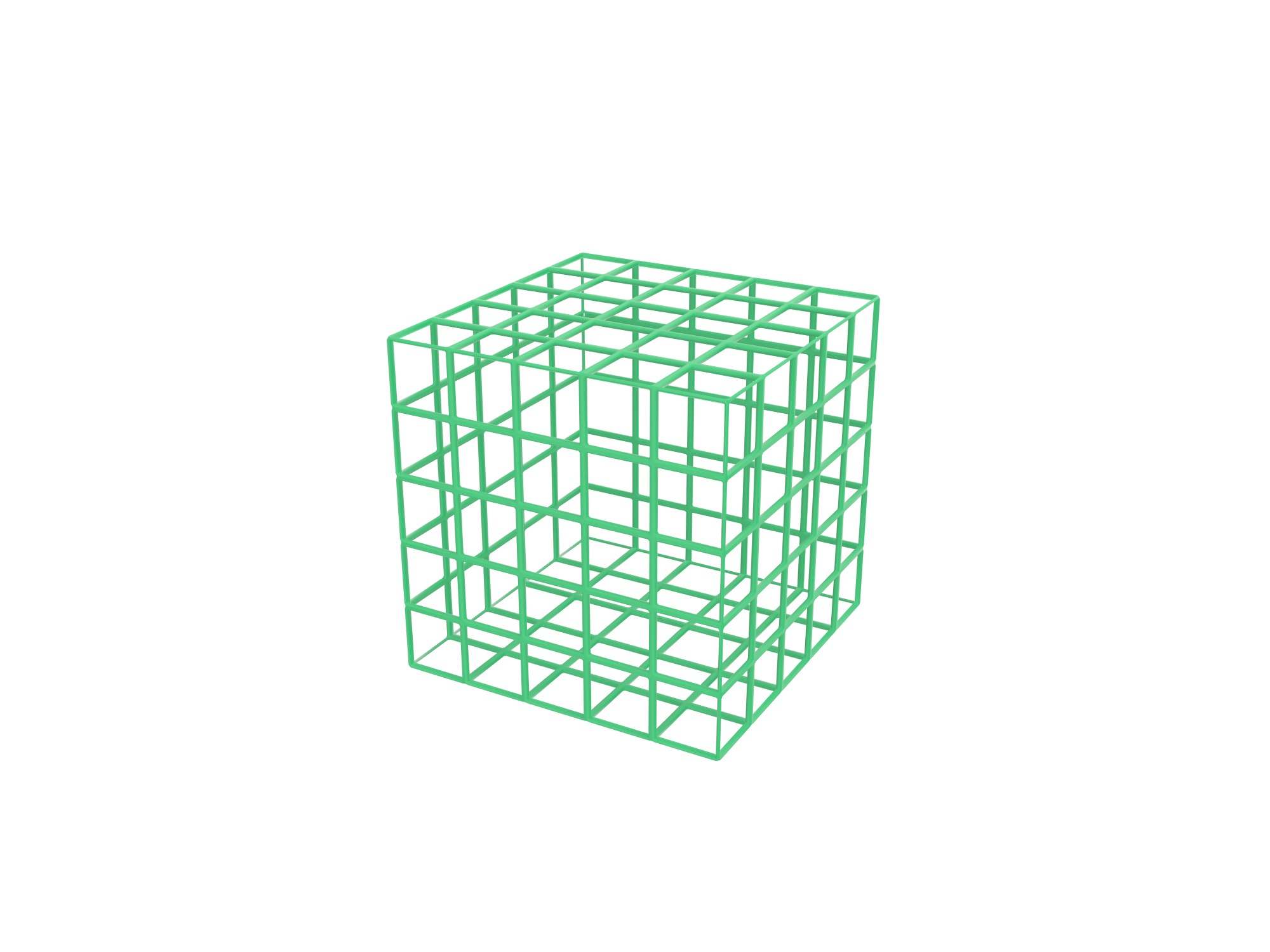 Box wireframe - 3D design by Vectary assets May 27, 2018