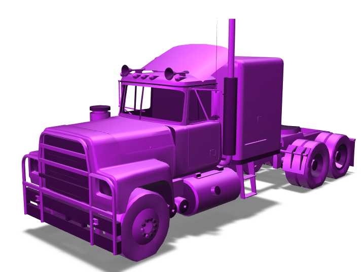 Truck - 3D design by Sprajtak Hraje on Mar 17, 2018