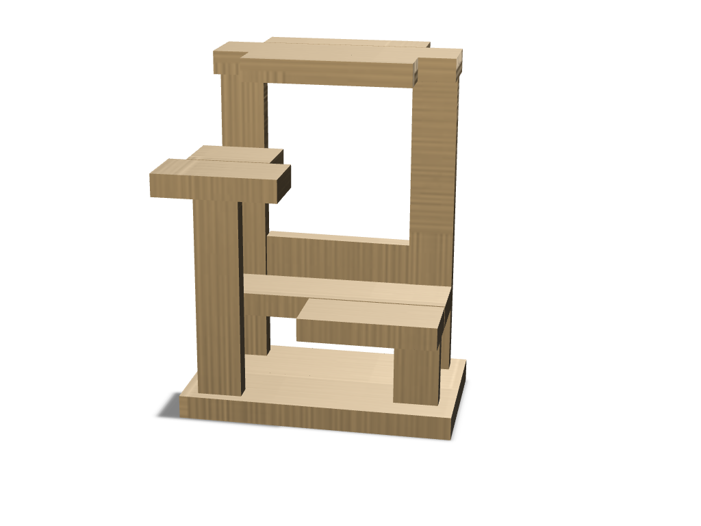 Cat Tower - 3D design by Cerys Organ Feb 8, 2018