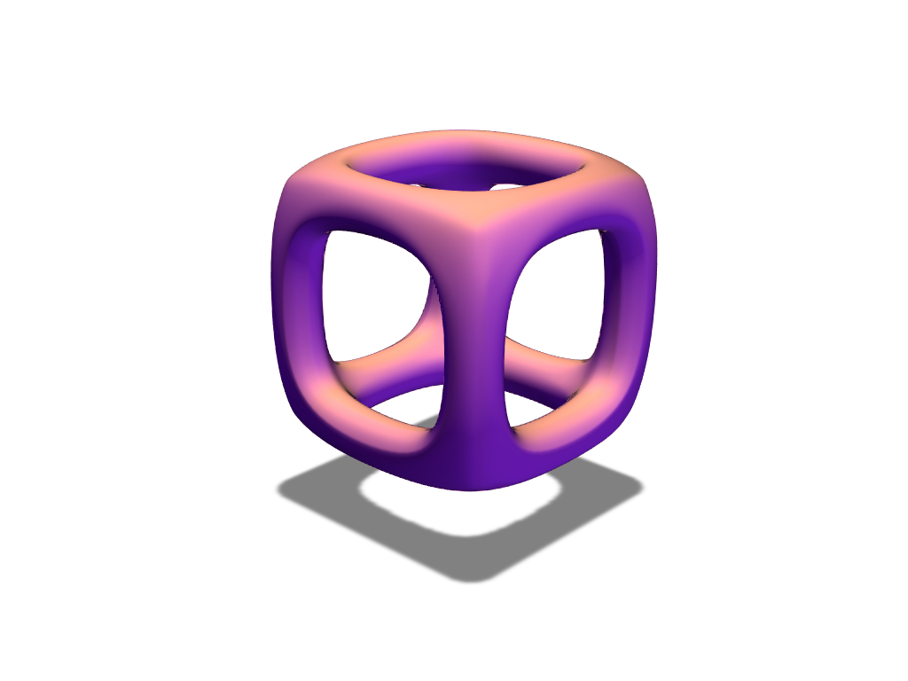 Box bauble - 3D design by duran Dec 20, 2017