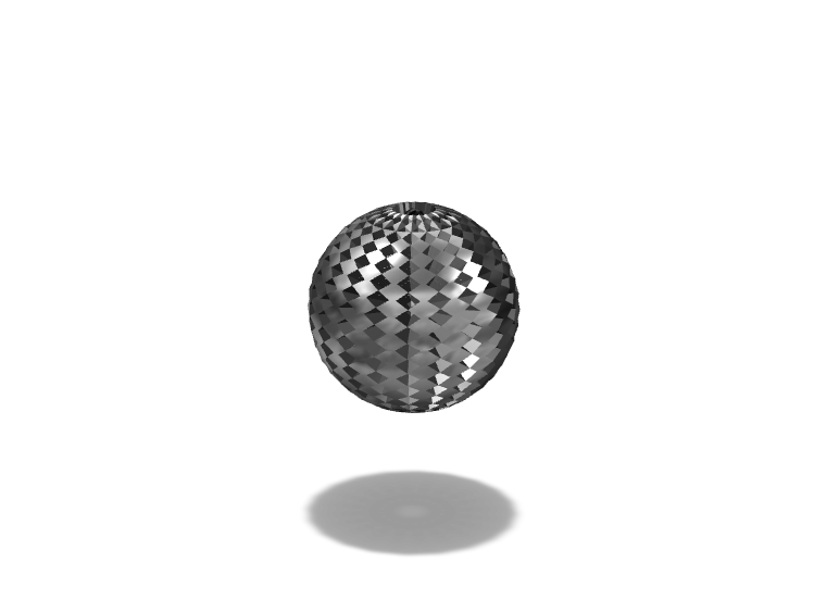 cool disco ball - 3D design by Hammerhit 36 on Nov 17, 2017