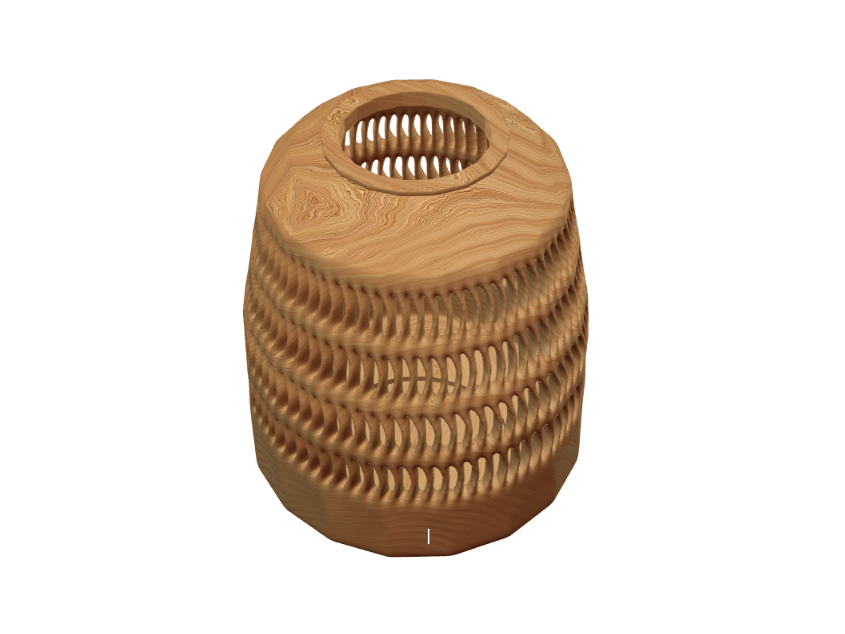 Carved vase - 3D design by Lukáš Jiroušek on Aug 18, 2017