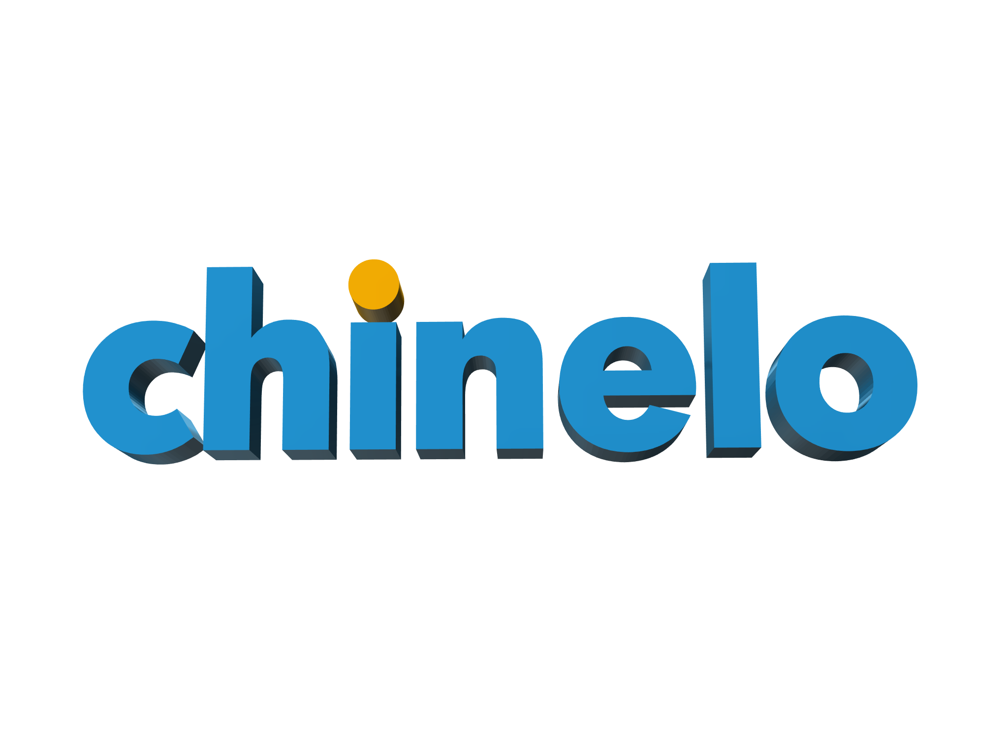 chinelo_logo - 3D design by Daniel Bravo on Apr 12, 2018