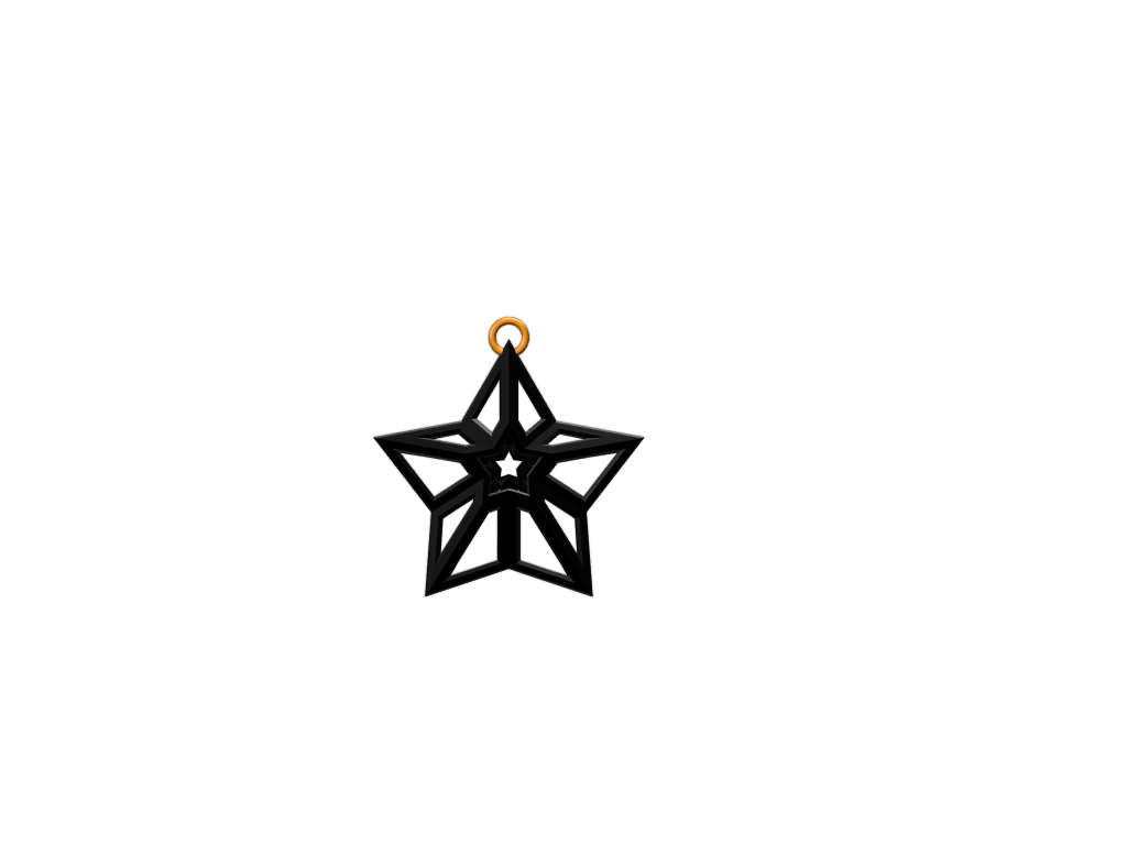 Christmas Star - 3D design by ogevans1 on Dec 13, 2017