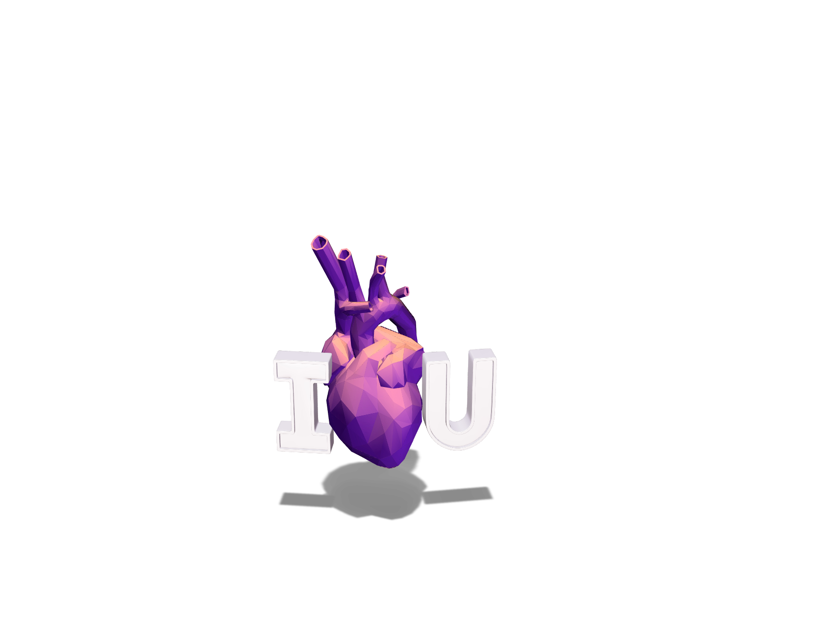 I Love U | Valentine's Day Card - 3D design by Po Cheng Shen Mar 7, 2018