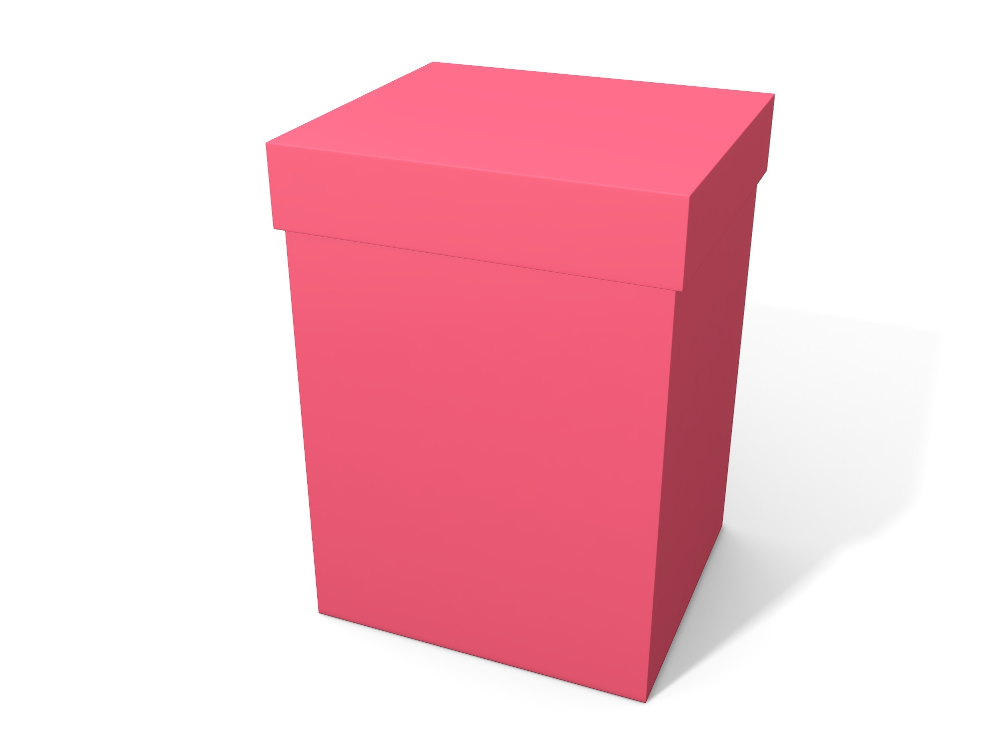 Box with lid 140 × 100 × 90 - 3D design by Vectary assets Nov 6, 2018
