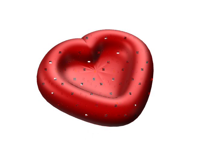 My Heart Bowl - 3D design by k1hop Nov 30, 2017