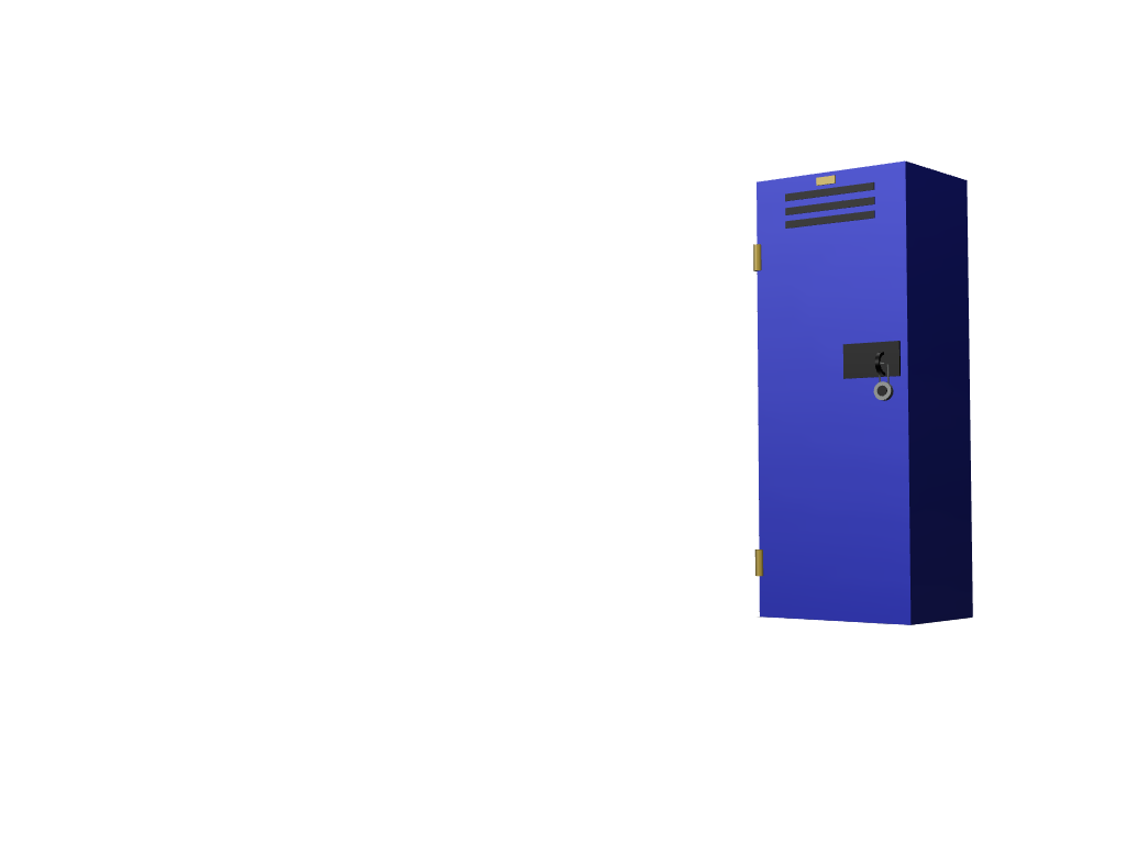 locker - 3D design by cryatonic555 Sep 19, 2017
