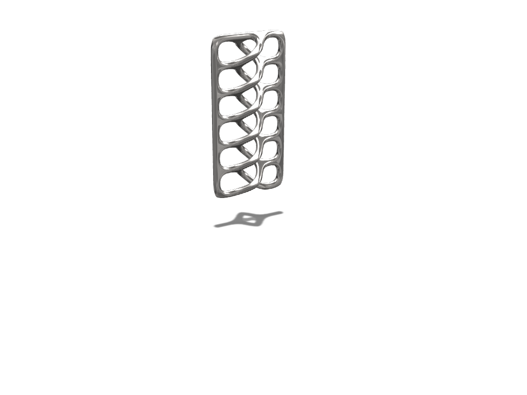 Rib cage pendant - 3D design by devil_nash87 Sep 24, 2017
