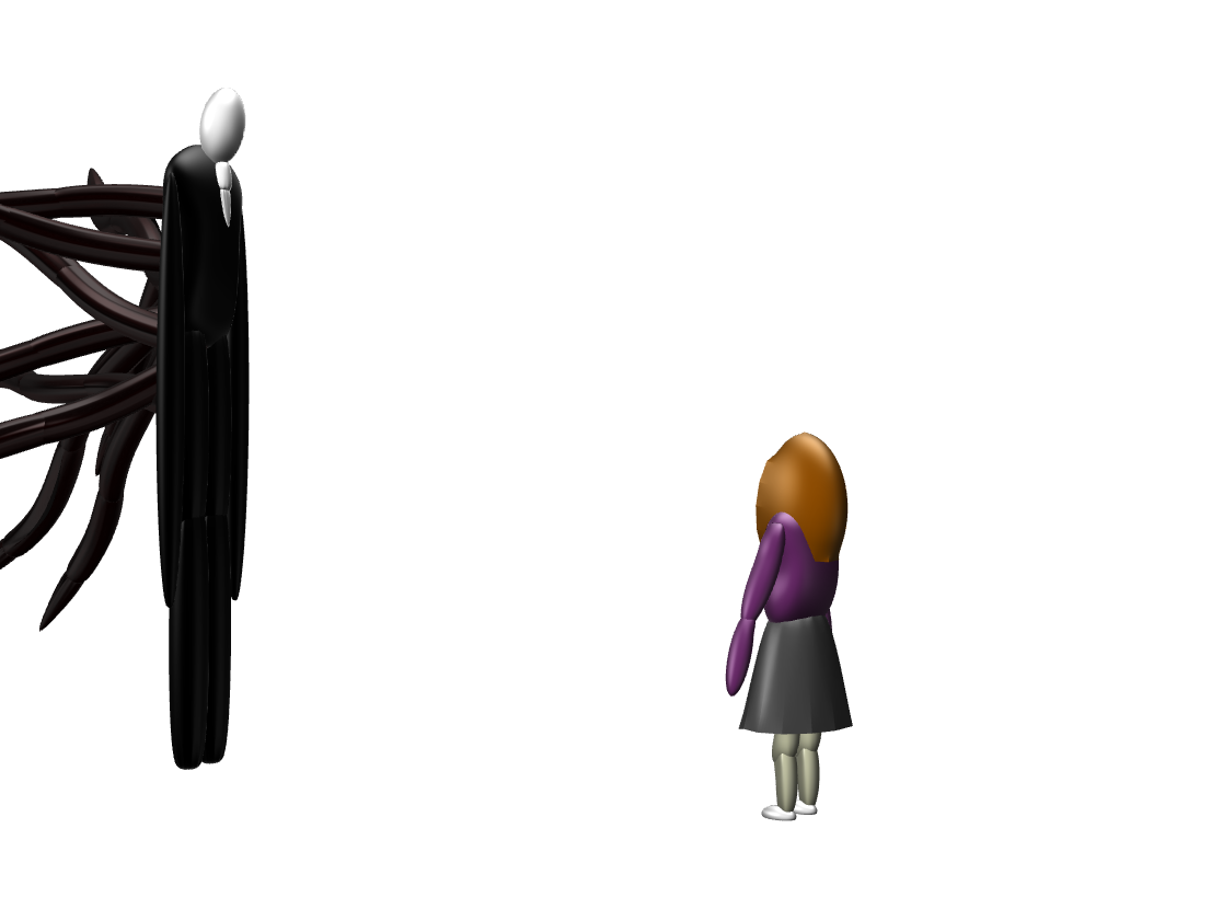 Slenderman - 3D design by sebastiandollybbb Dec 6, 2017