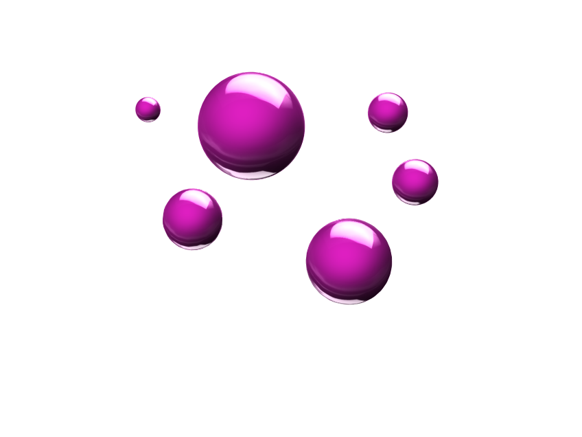 Pink Spheres - 3D design by louellaesguerra on May 10, 2017