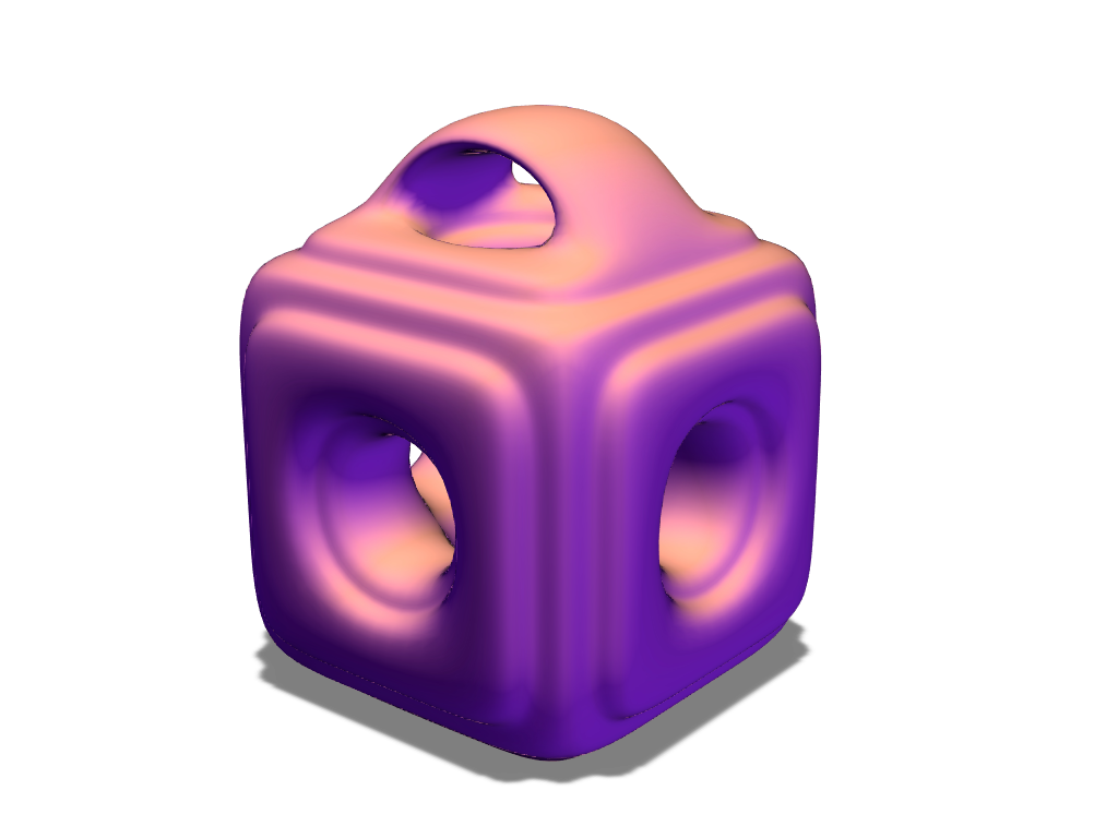 Box bauble - 3D design by fewowuzeco on Dec 20, 2017