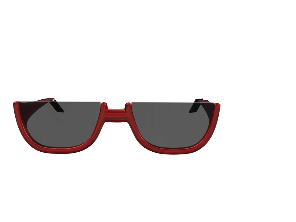 glasses - 3D design by Taylor Pearl Strother on Feb 17, 2018