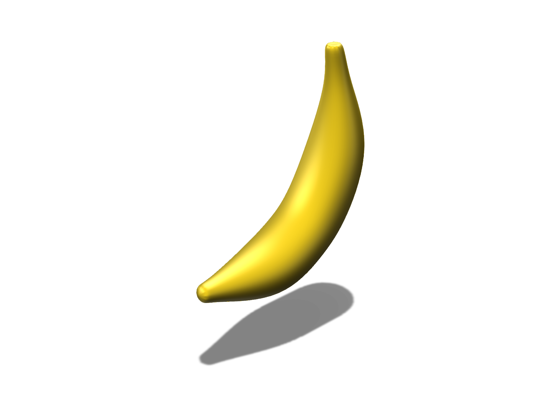 A Banana - 3D design by Dylan Goddard on Nov 17, 2017