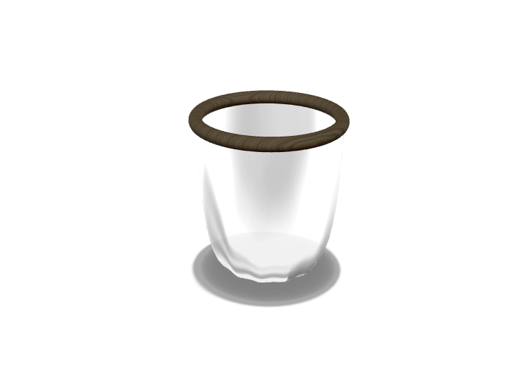 Glass Cup - 3D design by Liam Jeffers Oct 21, 2017