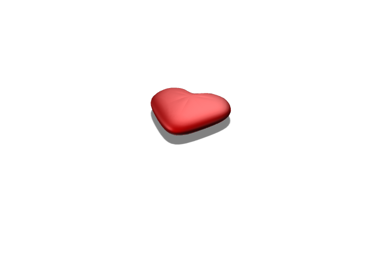 Heart - 3D design by irouteincorporation May 18, 2018