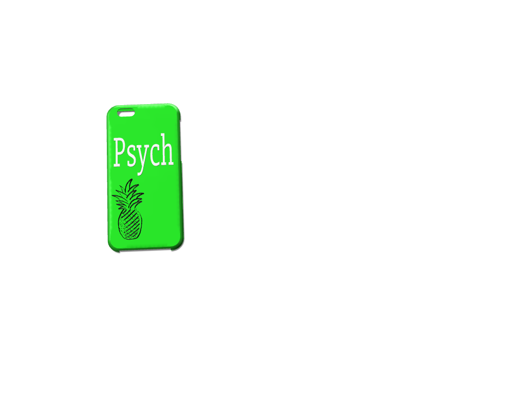 Psych phone case 2 - 3D design by madywistrand on Sep 19, 2017