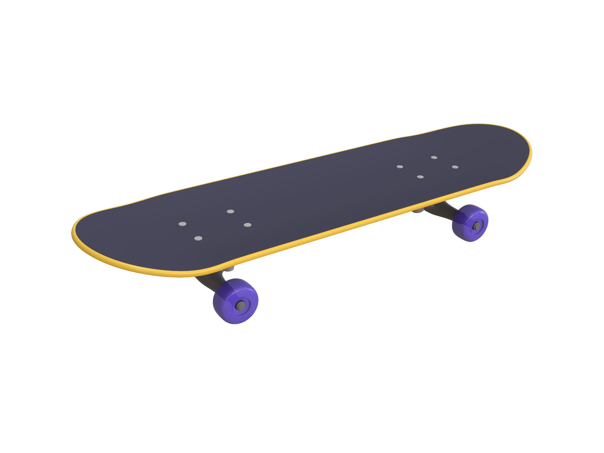 Skateboard - 3D design by assets May 31, 2018
