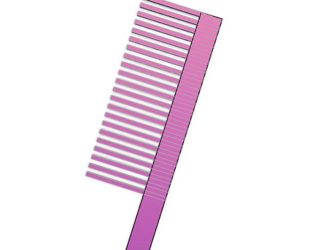 COmb no1 - 3D design by johnsonandhealey on Feb 22, 2018