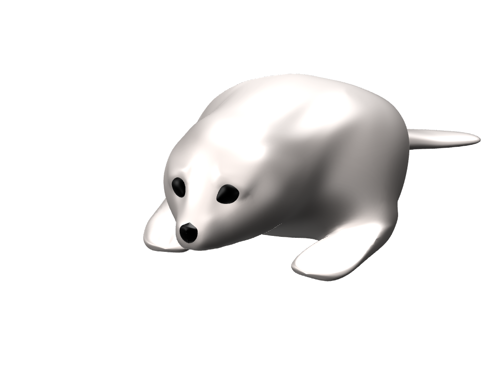 Mr Seal - 3D design by ivka Feb 22, 2017