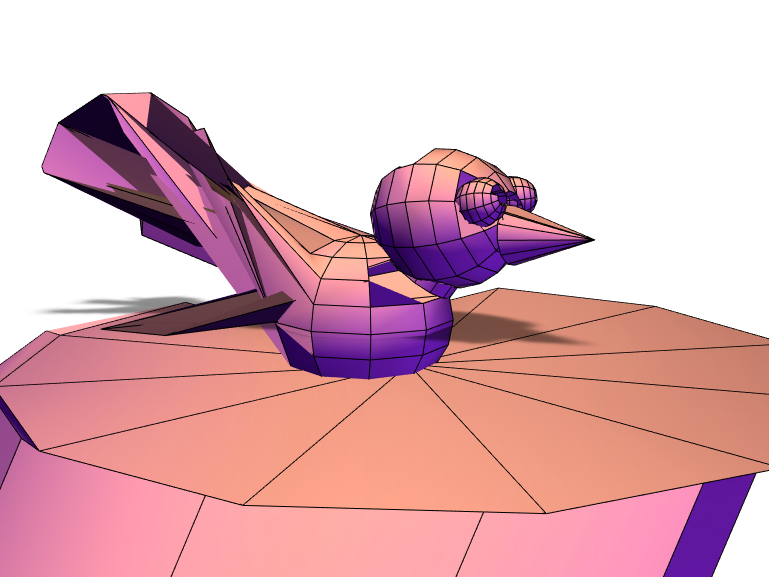 bird - 3D design by 260953 Apr 17, 2018