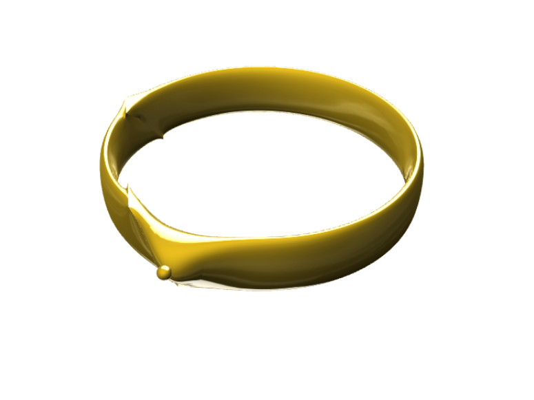 Ring with single Diamond. - 3D design by shahyash9094 Sep 3, 2017