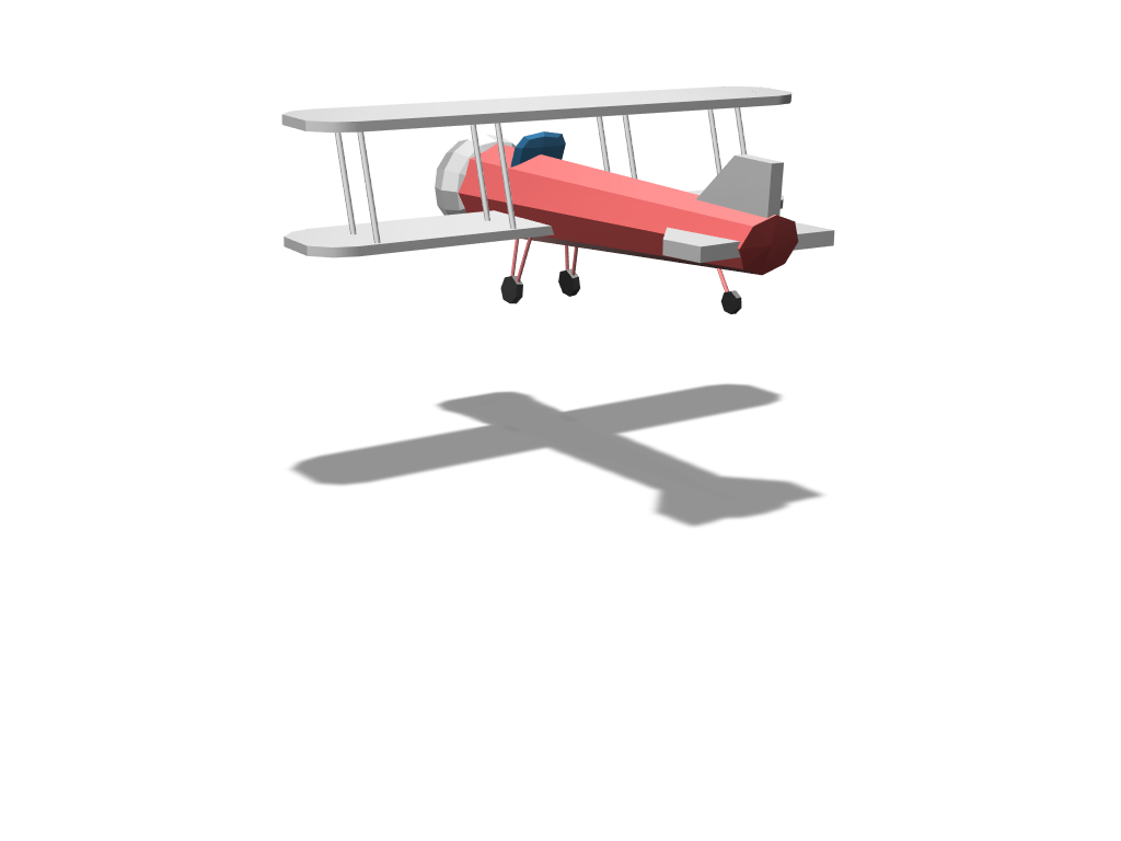Plane - 3D design by diamond32 Feb 17, 2018