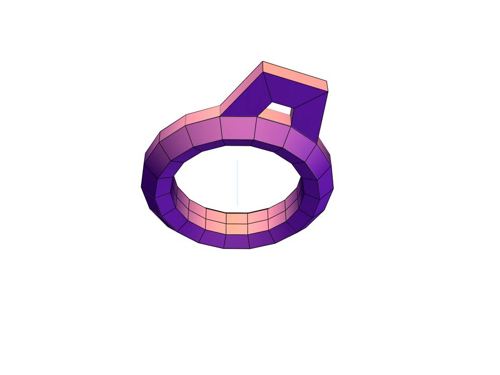Ring 1 - 3D design by ameighan Aug 10, 2017