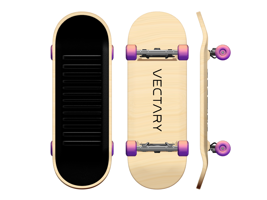 Fingerboard - 3D design by Johnnyal Jan 17, 2017