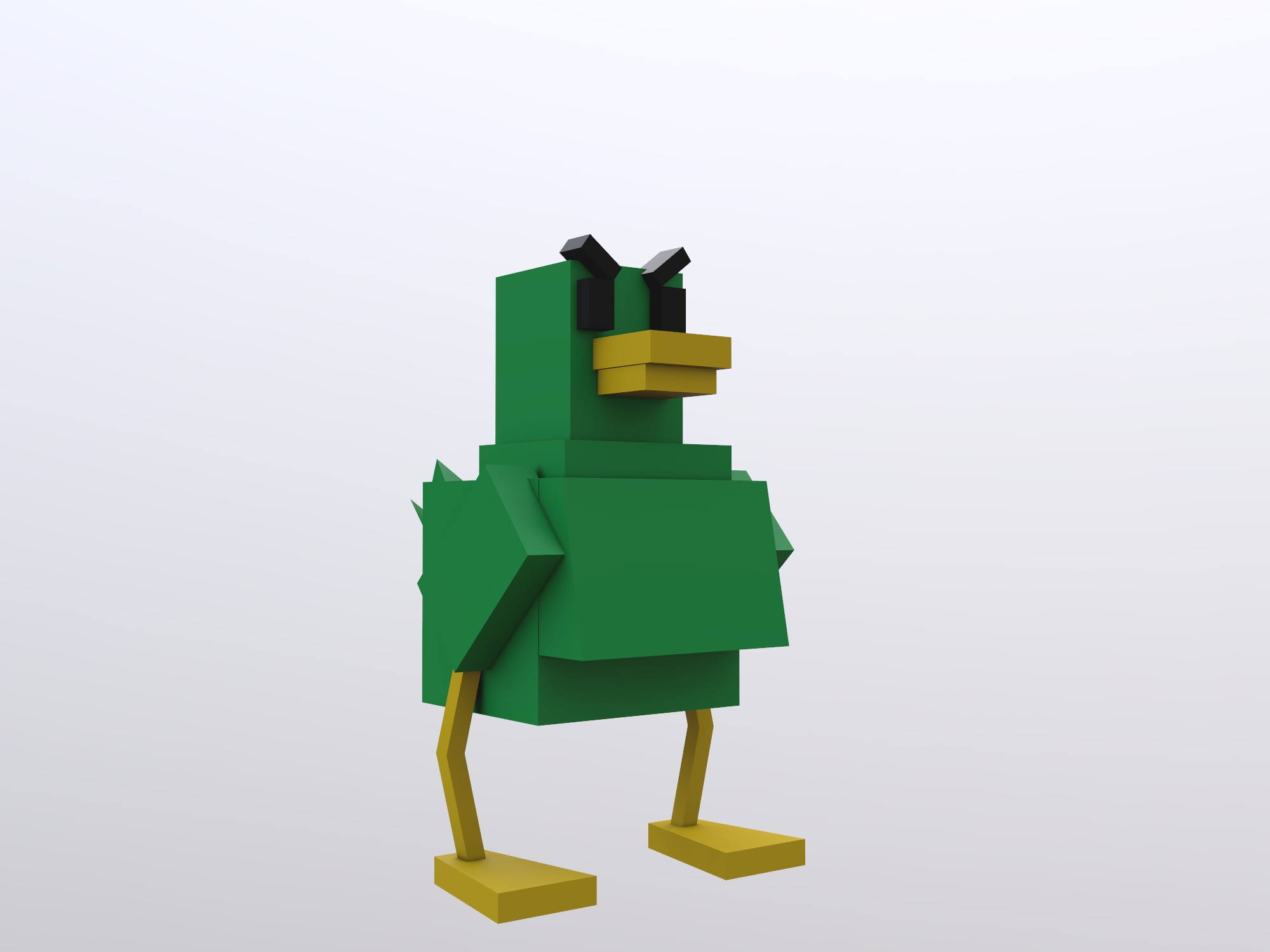 Bossy Duck - 3D design by starlion365 on Aug 25, 2018