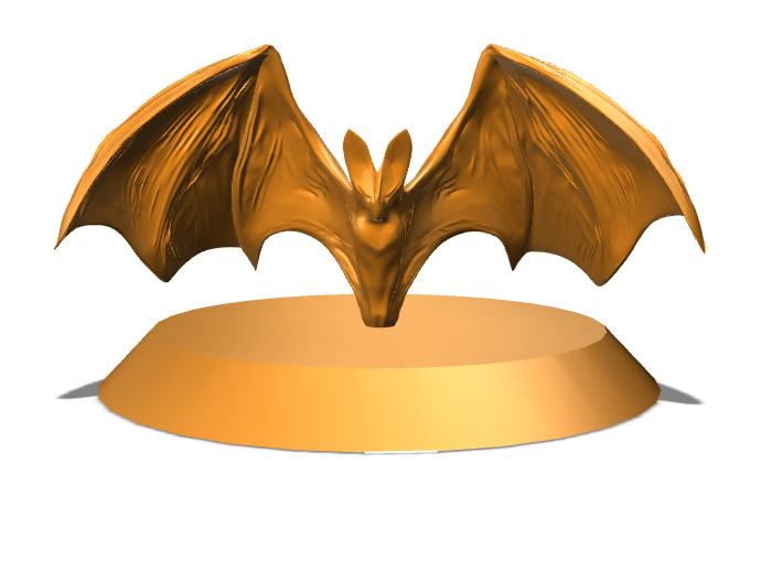 Mwangi Night Bat - 3D design by kraul.the.kleric Sep 15, 2017