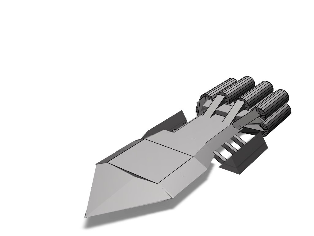 battlestar prometheus - 3D design by shark Sep 14, 2017