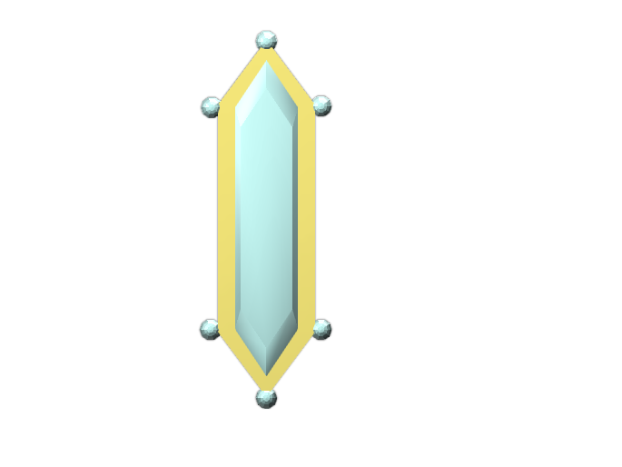 Crystal Badge - 3D design by christianp4892 Apr 25, 2018