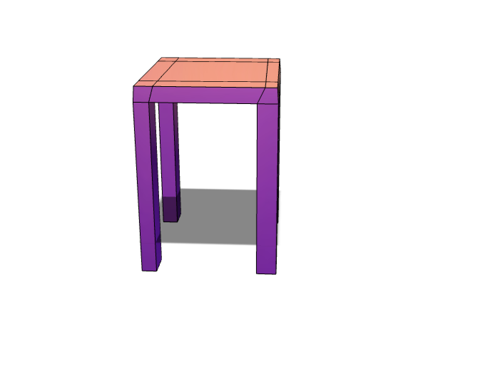 Standing Table - 3D design by jonas.beaver on Dec 4, 2017