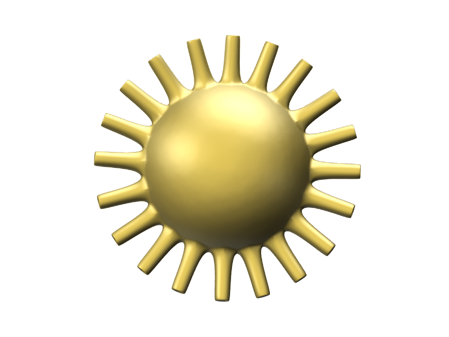 The Sun - 3D design by harsheth26 Dec 1, 2017