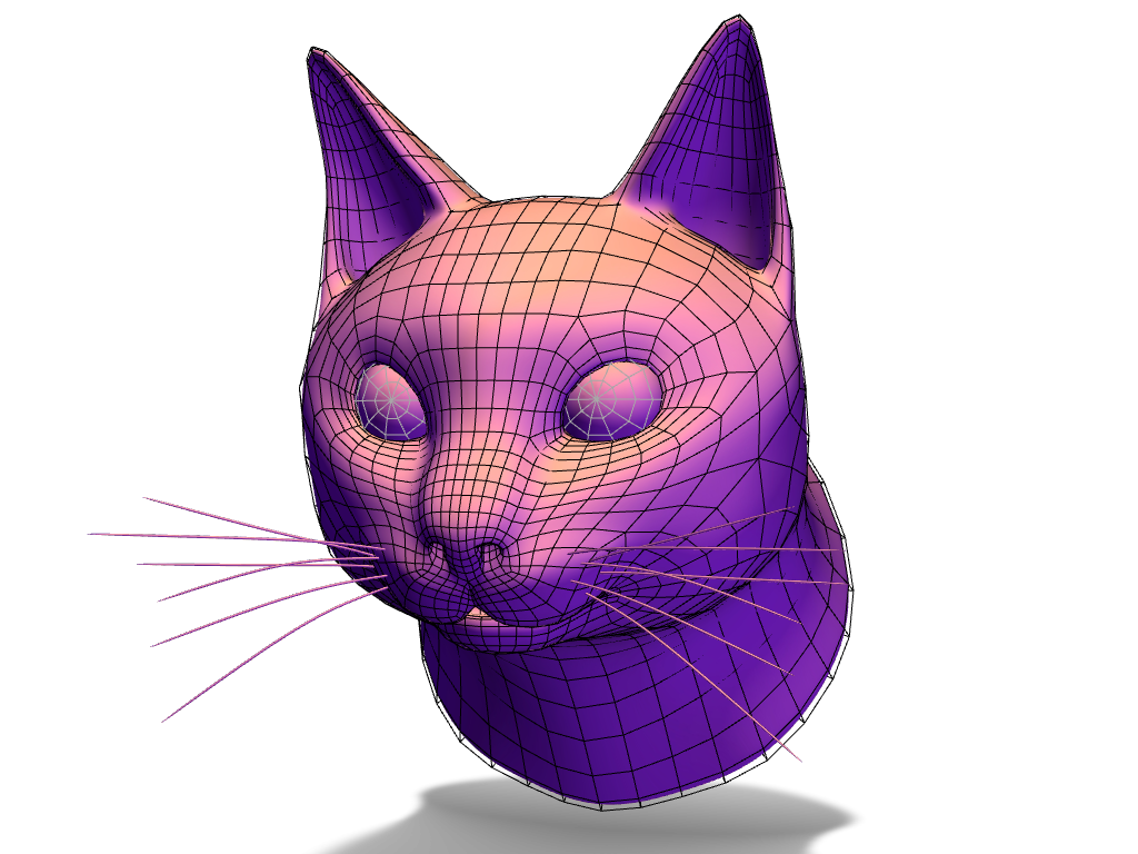 Gato - 3D design by Rolando Castro Feb 27, 2018
