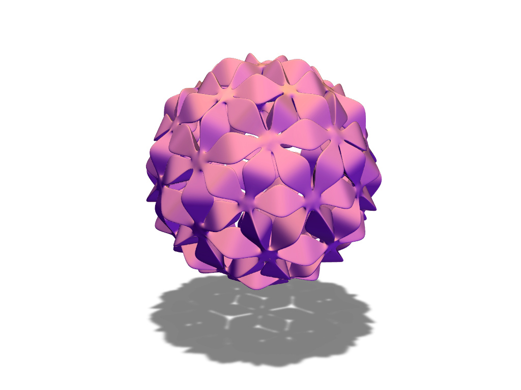 J&W bauble 04 - 3D design by baubleblaster on Dec 21, 2017