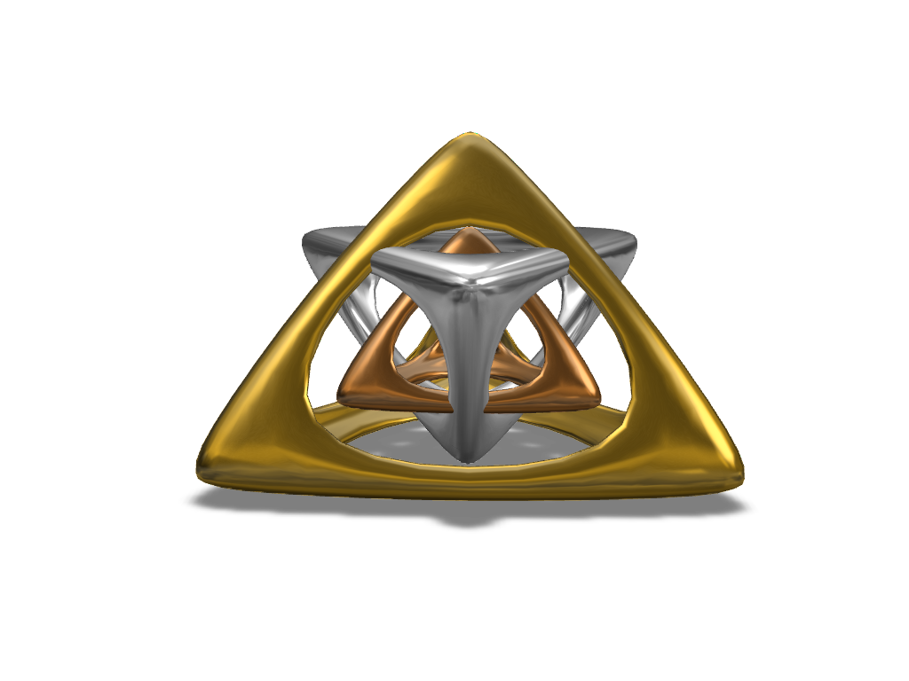 Elegant Pyramid Pendant - 3D design by Adrien Unger on Sep 1, 2017