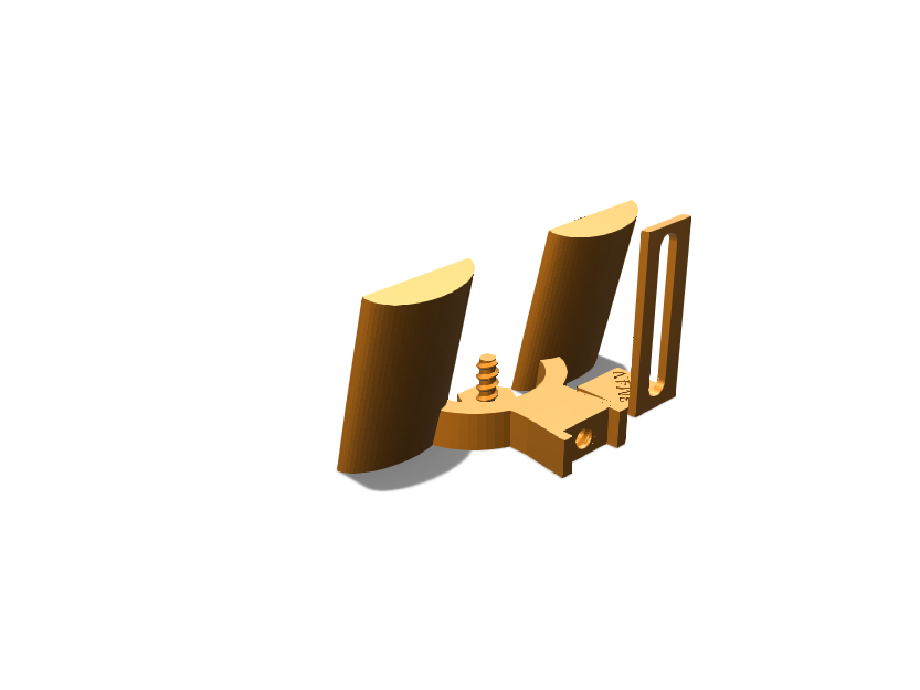 Attachable Door Shoe Holder - 3D design by Cole Wagner Apr 5, 2018