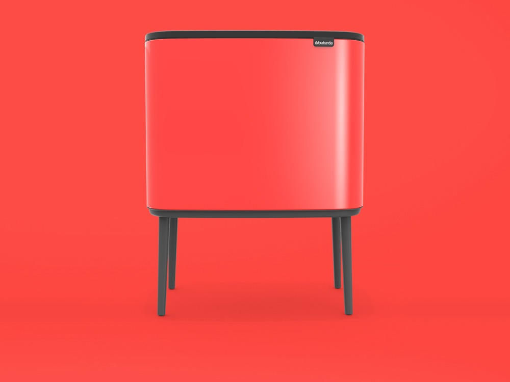 Bo Touch Bin - Passion Red - 3D design by danny on Oct 8, 2018
