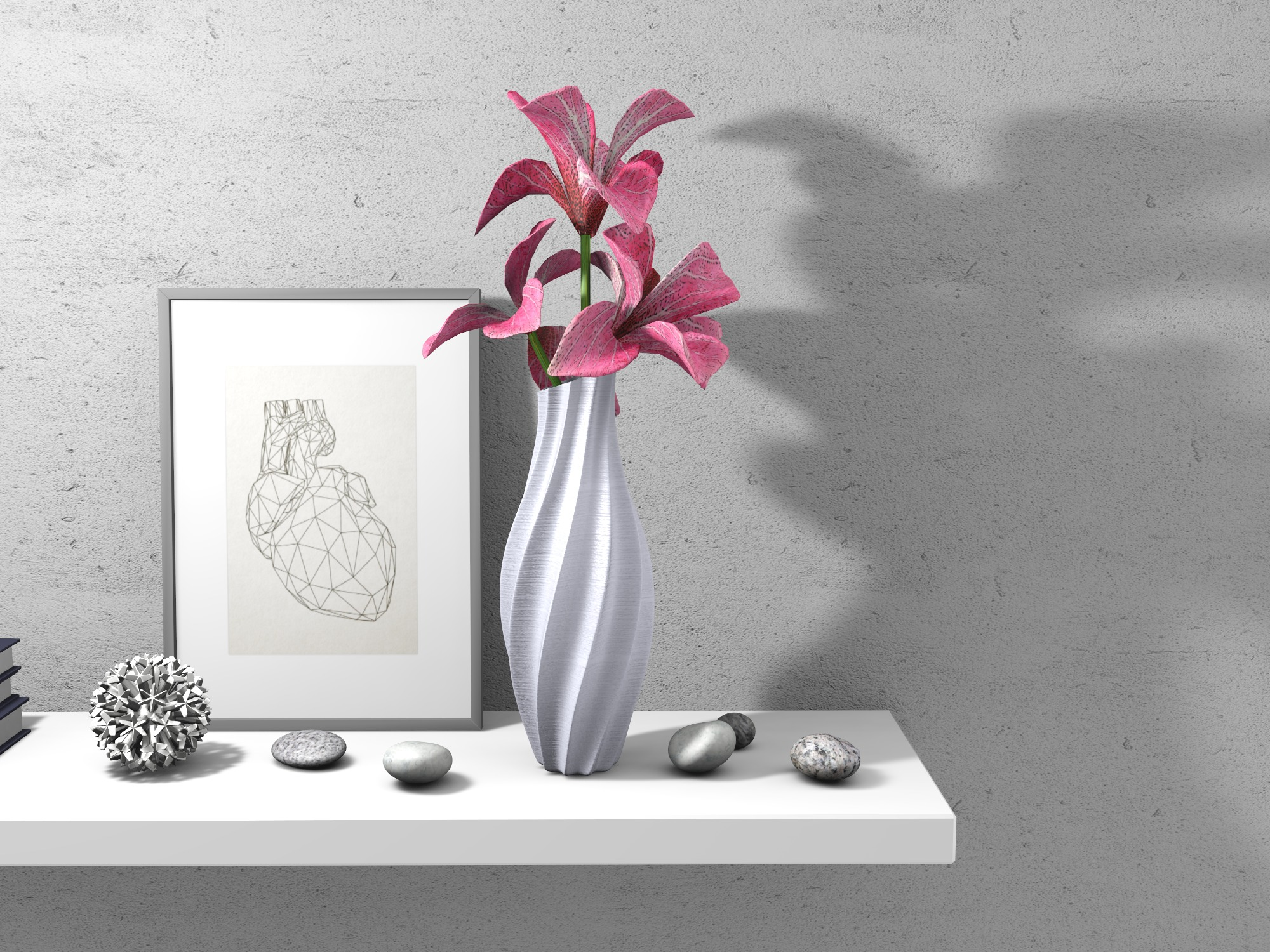 Vase - 3D design by Adrian on Aug 15, 2018
