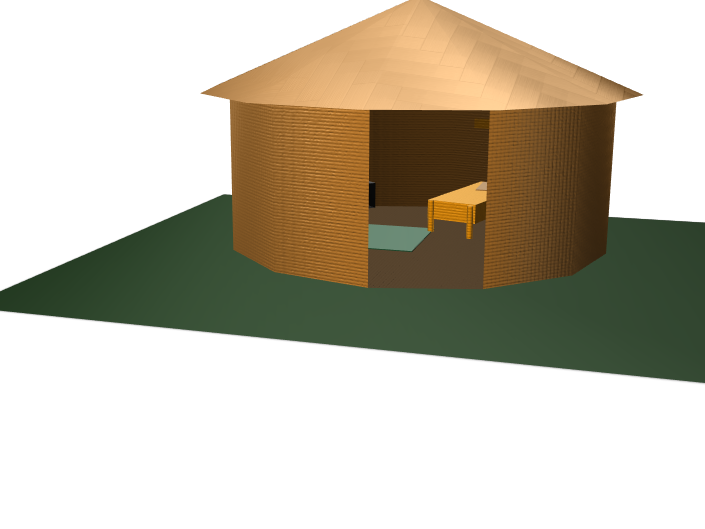 Ethiopian house 2.0 - 3D design by 013989 on Jan 22, 2018