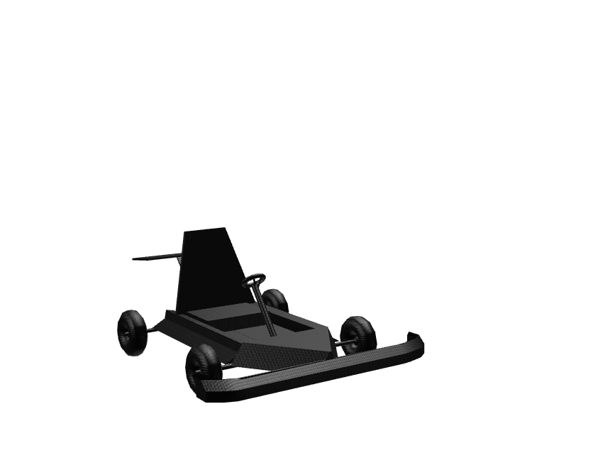 Gokart - 3D design by Dominik Kiss on Nov 1, 2017