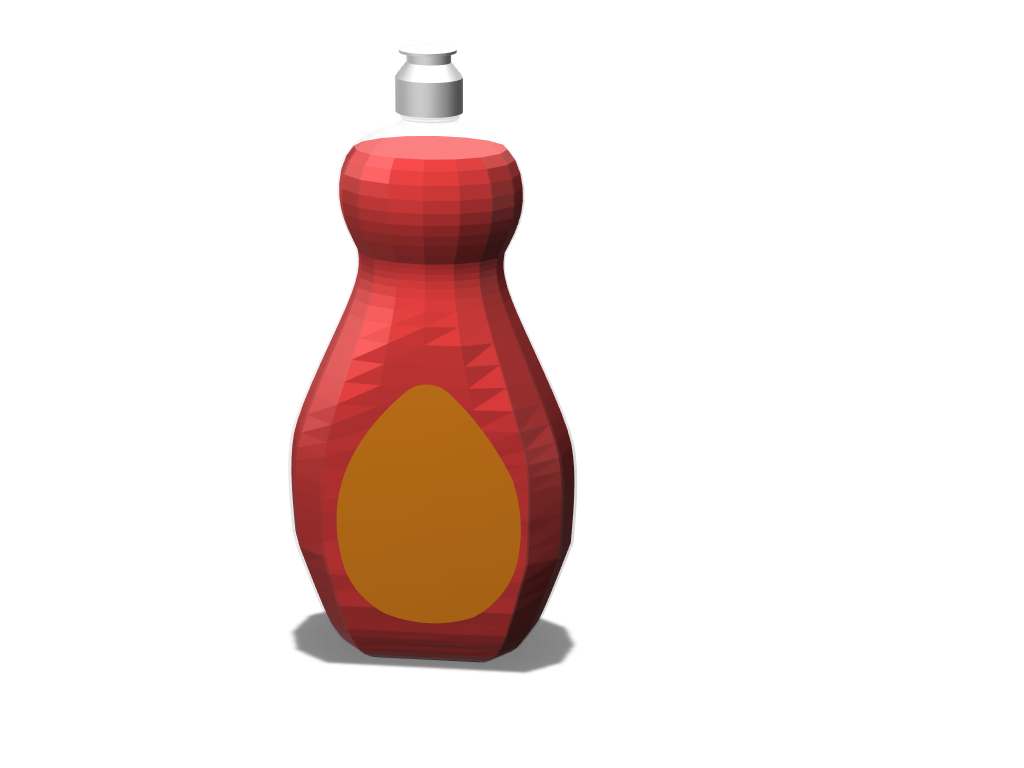 bottle - 3D design by Saori Miyagui May 7, 2018