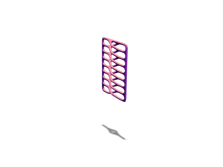 VECTARY_parametric_pendant - 3D design by Genny Pierini Sep 14, 2017