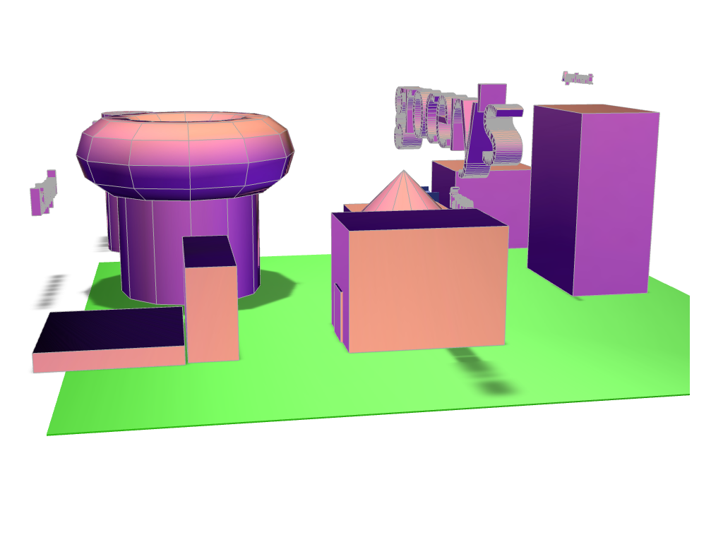my community - 3D design by amnavarro2 May 4, 2018