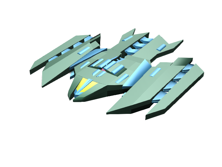 Space shooter - 3D design by 173725 on Mar 30, 2018