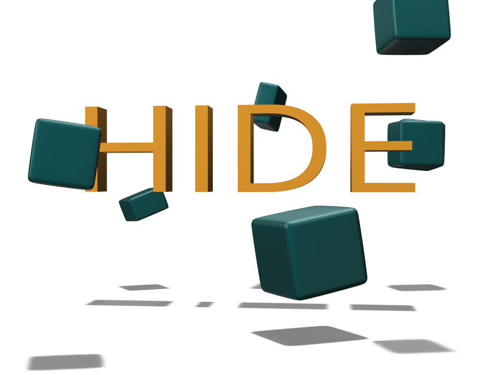HIDE - 3D design by u Mar 1, 2018